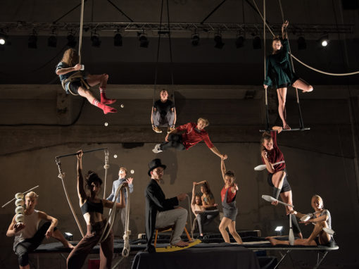 MIDSUMMERNIGHT CIRCUS, Codarts Circus Arts (NL) & Collectif Malunés (BE)