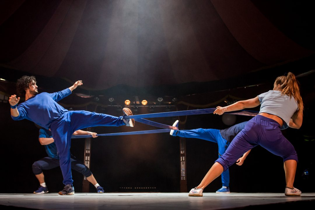 BARELY METHODICAL TROUPE (GB) met 'Shift'